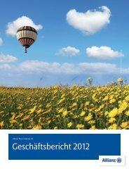 Geschäftsbericht 2012