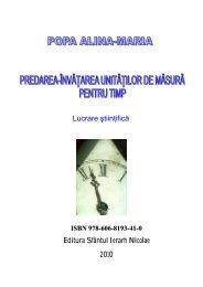 Lucrare ştiinţifică Editura Sfântul Ierarh Nicolae 2010