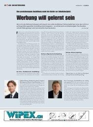 Aus- und Weiterbildung» (PDF) - Werbewoche
