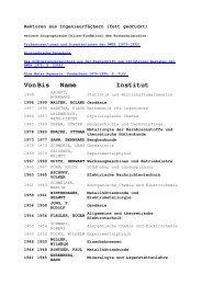 Rektorenliste 1 - Hochschularchiv der RWTH Aachen