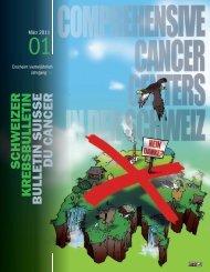 schweizer krebsbulletin bulletin suisse du cancer - IUMSP