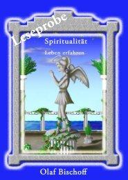 Leseprobe- Spiritualitaet - Leben erfahren - Hierophant-Verlag
