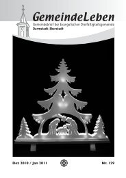 Ausgabe Dezember 2010 / Januar 2011 - Dreifaltigkeitsgemeinde ...