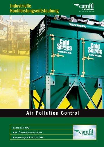 Air Pollution Control Industrielle ... - Camfil Farr