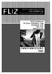 Jahresbericht 2006 - FLIZ