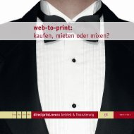 Betrieb & Finanzierung Produktbroschüre - directprint.neon