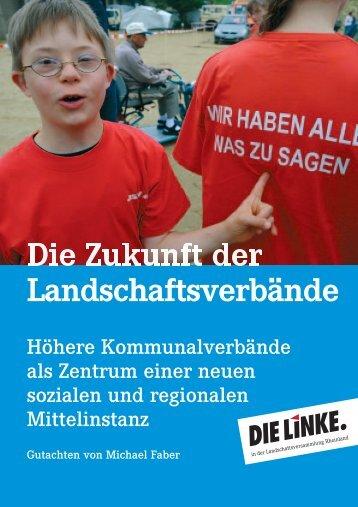 Landschaftsverbände - Die Linke. Gruppe in der ...