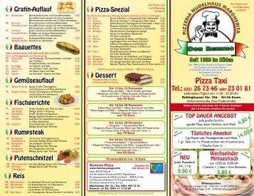 Pizza Taxi - Don Remmo Pizzeria