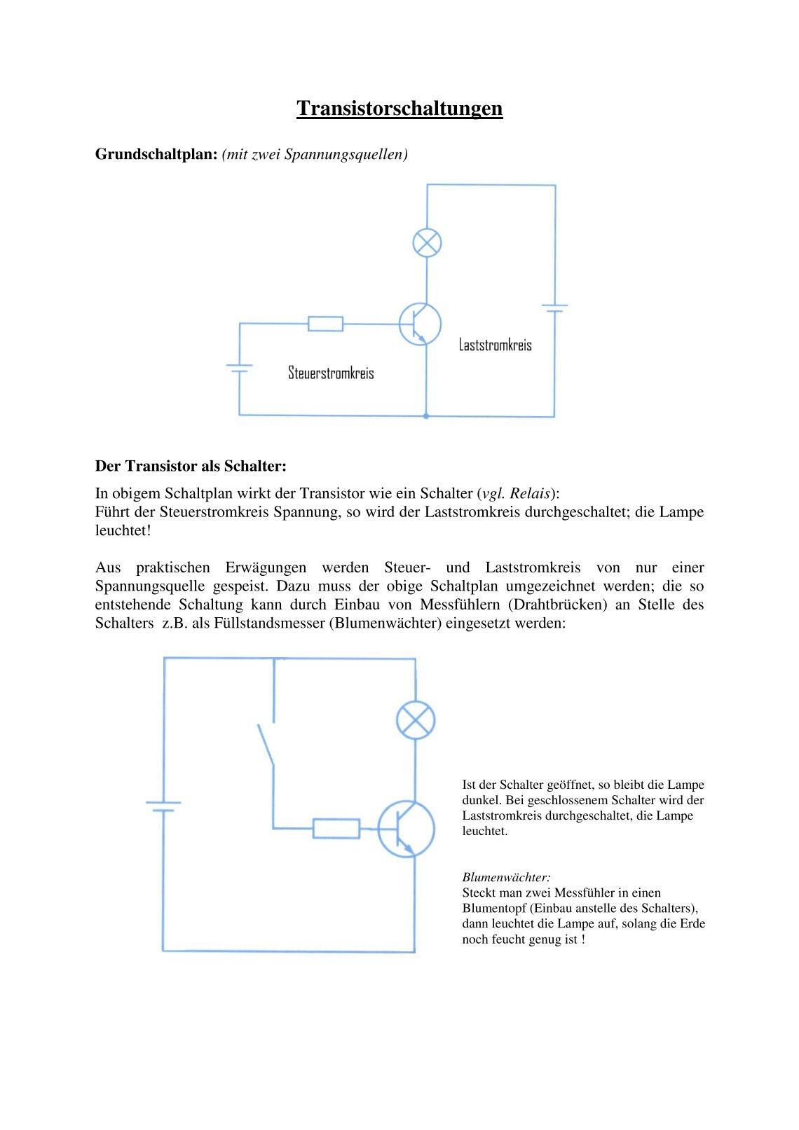 Gemütlich Grundverdrahtung Galerie - Der Schaltplan - greigo.com