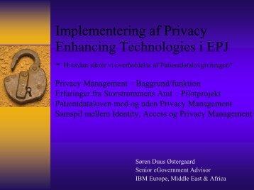 hvordan sikrer vi overholdelsen af ... - EPJ-Observatoriet