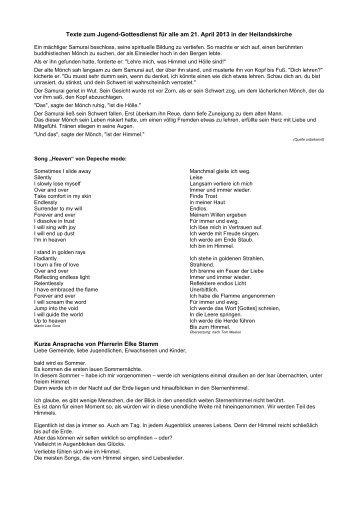 Predigt von Elke Stamm am 21-April 13.pdf - Isartal Gemeinden