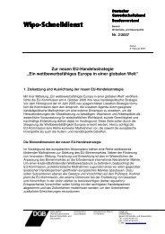 WimožSchnelldienst Schnelldienst - Netzwerk Europäische ...