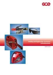 Welding and Engineering Accessories Schweißzubehör - USA - GCE