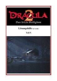 (Dracula 2 - Lösungshilfe Teil 5) - Gamepad.de