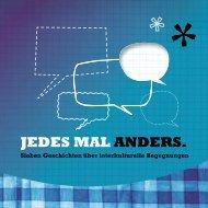 JEDES MAL ANDERS. - Land der Menschen - Diözese Linz
