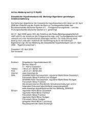Ad hoc-Meldung nach § 15 Wphg Düsseldorfer ... - Bankhaus Bauer