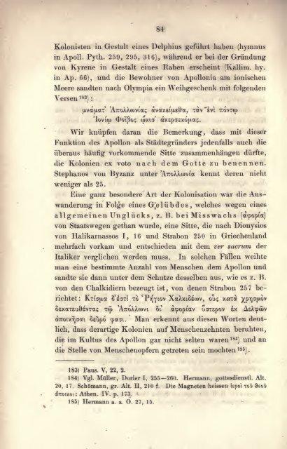 Studien zur vergleichenden Mythologie der Griechen und Römer