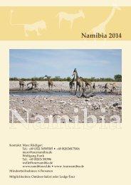 Namibia 2014 - bei web 'n' print