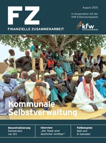 Deutsch (PDF, 750 KB) - KfW Entwicklungsbank