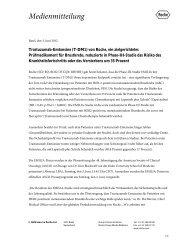 Trastuzumab-Emtansine (T-DM1) von Roche, ein zielgerichtetes ...