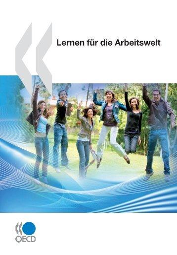 Lernen für die Arbeitswelt - OECD Online Bookshop