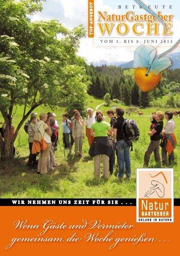 Naturgastgeber-Wochen