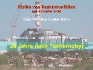 Präsentation als pdf-Datei - TSCHERNOBYLKONGRESS.DE