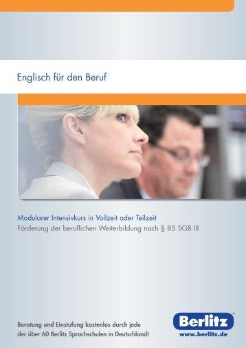 Englisch für den Beruf - Berlitz Deutschland GmbH