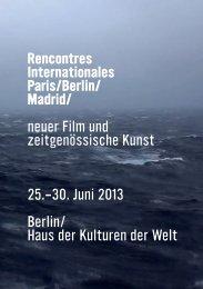 screening - Rencontres Internationales
