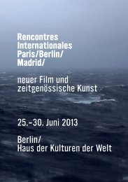 screening - Rencontres Internationales
