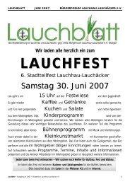 pdf 1,8 MB - Home @ BÜRGERFORUM LAUCHHAU-LAUCHÄCKER