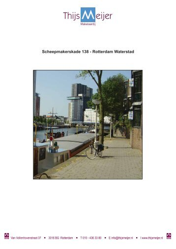Scheepmakerskade 138 - Rotterdam Waterstad - Thijs Meijer ...
