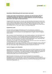 Schulinterne Weiterbildung für die Lehrerinnen und Lehrer [PDF ...