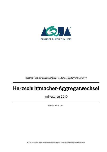 Indikatorenbeschreibung 2010 (PDF) - SQG