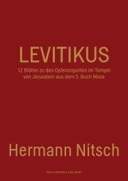 12 Blätter zu den Opferungsriten im Tempel von ... - Nitsch Foundation
