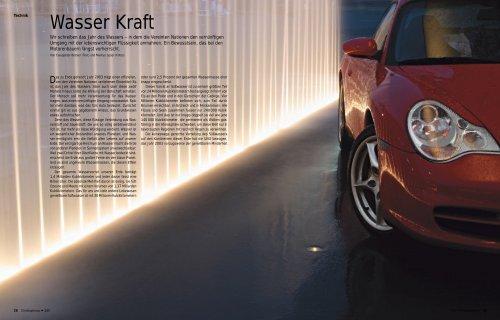 Wasser Kraft - Porsche