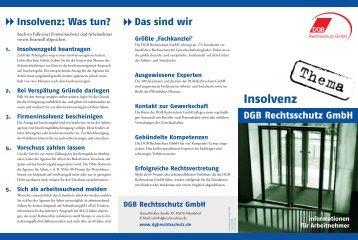 Insolvenz: Was tun? Das sind wir - IG Metall München
