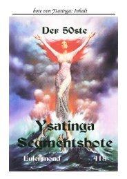 Ysatinga 50 - Vangor.de