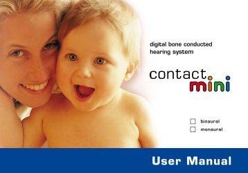 Contact-Mini User Manual (PDF)