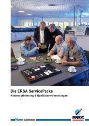 Die ERSA ServicePacks