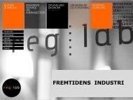 Fremtidens Industri v/ Jens Nyholm, IRIS Group - Reg Lab