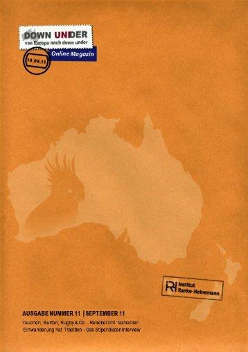 Ausgabe 11 (1.8 MB) - Institut Ranke Heinemann