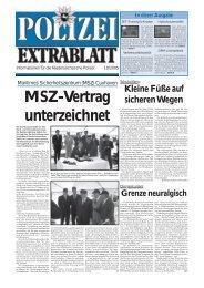Polizei-Extrablatt, Ausgabe Oktober 2005 - Niedersächsisches ...