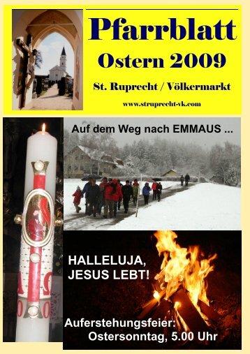 Ostern 2009 - der Stadtpfarre St. Ruprecht / Völkermarkt