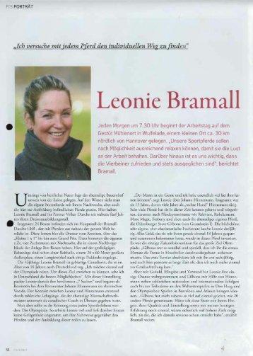 Porträt Leonie Bramall - bramall-dusche.de