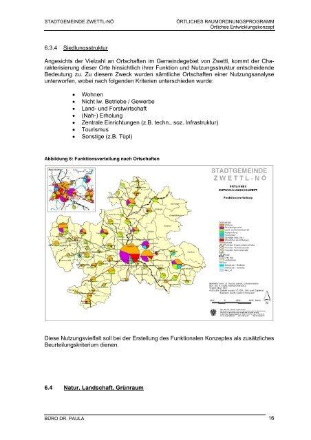 Entwicklungskonzept der Stadtgemeinde Zwettl-NÖ