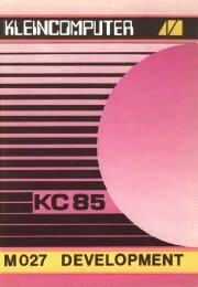 Anleitung des M027 - als PDF download - KC-Club