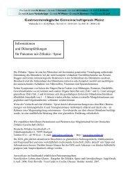 Pat-Info Zoeliakie - Sprue 2013.pdf - Gastropraxis Mainz
