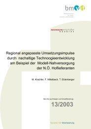 Endbericht (687.0 kB) - NachhaltigWirtschaften.at