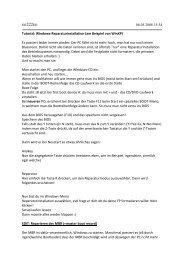 Reparaturinstallatio.. - ixispeicher's neue Internetpräsenz auf Funpic ...
